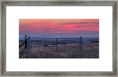 The Ranch Framed Print by Peter Tellone