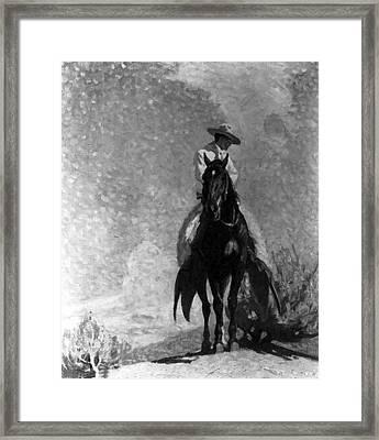 The Ranger Framed Print by W Herbert Dunton