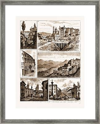 The Raphael Quarter-centenary, Urbino, Italy Framed Print by Litz Collection