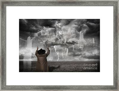 The Rapture II Framed Print by Keith Kapple