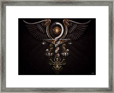 The Rapture Of Incarnation  Framed Print by Fred Andrews IV
