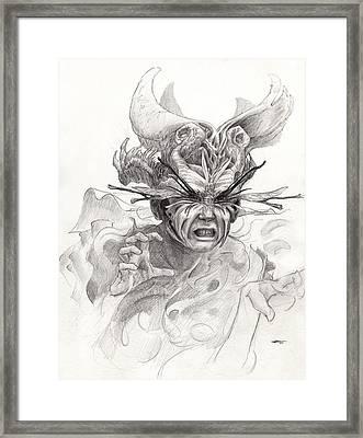 The Rascal Framed Print by Ethan Harris