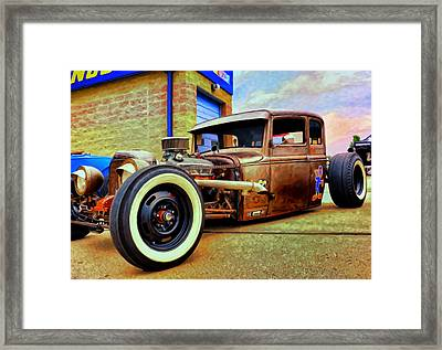 The Rat Framed Print by Michael Pickett