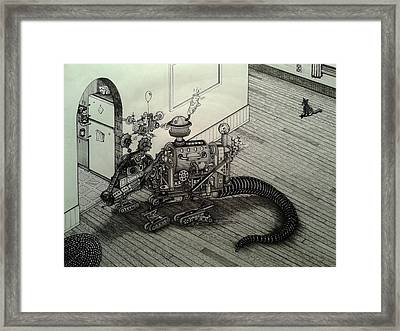 The Rat Framed Print by Richie Montgomery