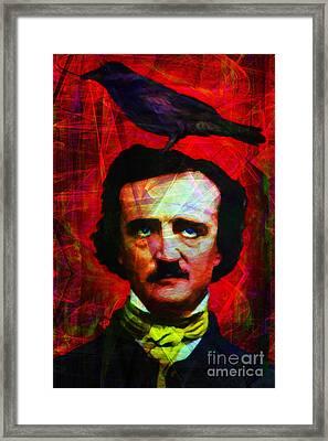 The Raven 20140118 Framed Print