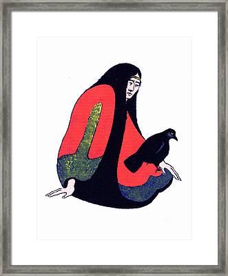 The Raven Ap/2 Framed Print