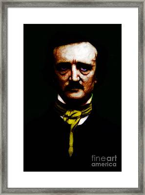 The Raven - Edgar Allan Poe Framed Print by Wingsdomain Art and Photography