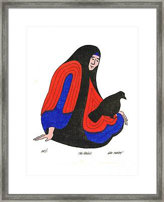The Raven From Artist Proof 1 Framed Print
