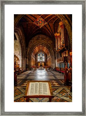 The Reading Room Framed Print