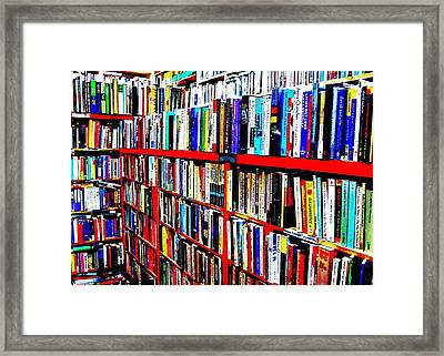 The Reading Room Framed Print by Benjamin Yeager