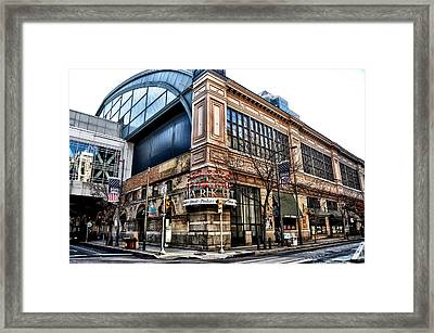 The Reading Terminal Market Framed Print