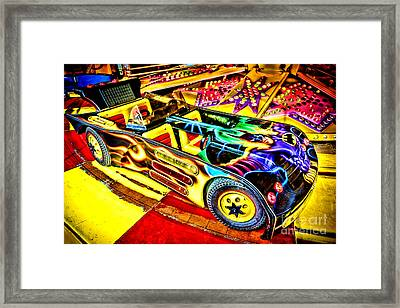 The Real Batmobile Framed Print