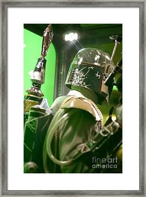 The Real Boba Fett 5 Framed Print by Micah May
