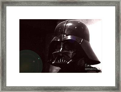 the Real Darth Vader Framed Print