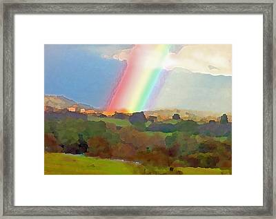 The Real Pot Of Gold Framed Print