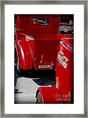 The Real Thing Framed Print by JW Hanley