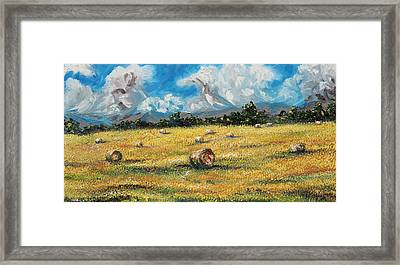The Reaping Framed Print by Meaghan Troup