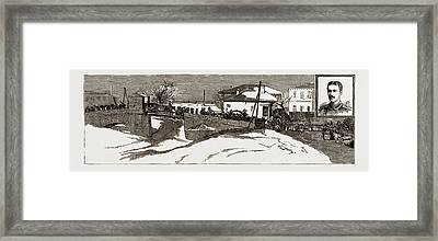 The Recent War Between Serbia And Bulgaria Framed Print by Litz Collection