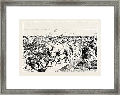 The Reception Of Sir Baldwin Griffith Framed Print by African School