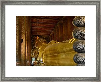 The Reclining Buddha Framed Print