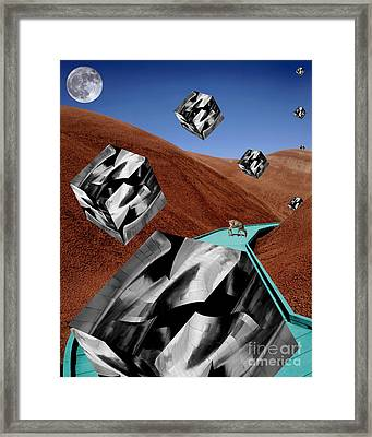 The Recolonization Framed Print by Keith Dillon