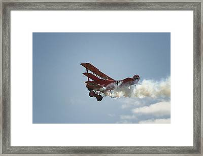 The Red Baron Framed Print by Gary Hall