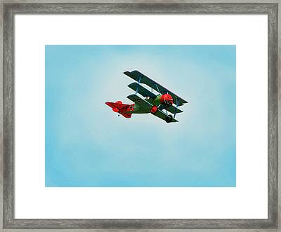 The Red Baron Framed Print by Thomas Young