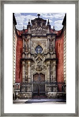 The Red Church Framed Print by Lynn Palmer
