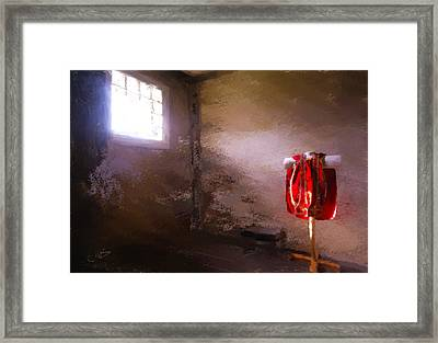 The Red Cloth Framed Print