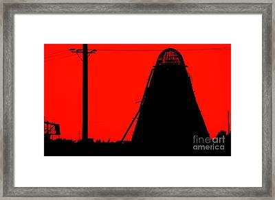 The Red Mill Framed Print by Jessica Shelton
