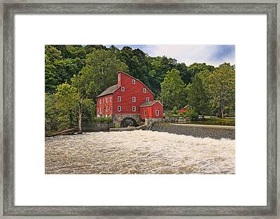 The Red Mill The Day After Irene Framed Print