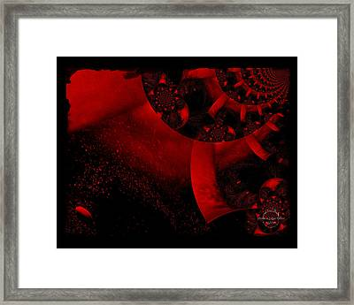 The Red Planet Cometh Framed Print