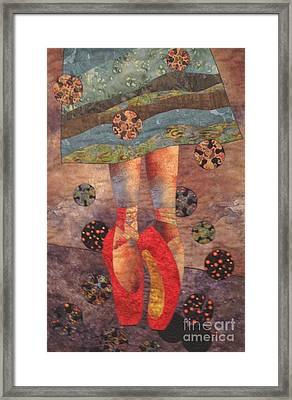The Red Shoes Framed Print by Lynda K Boardman