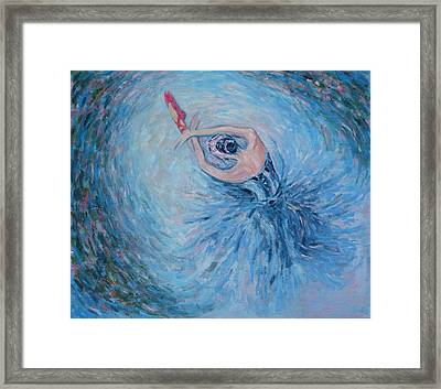 The Red Shoes Framed Print