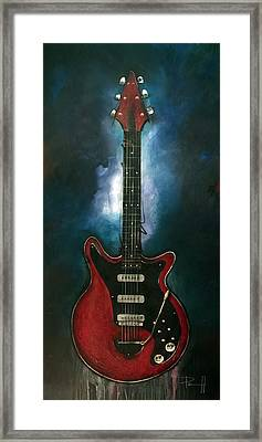 The Red Special Framed Print