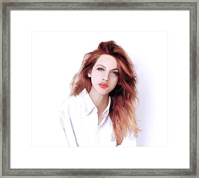 The Redhead Framed Print by GCannon