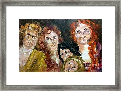 The Redheaded Step Child Framed Print by Michelle Dommer