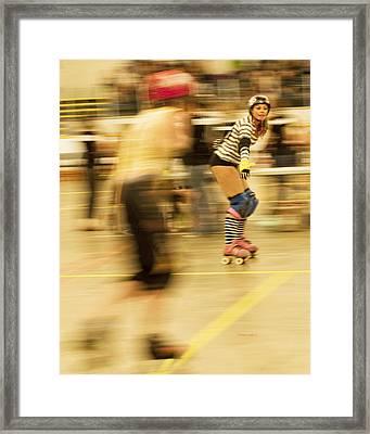 The Ref Framed Print