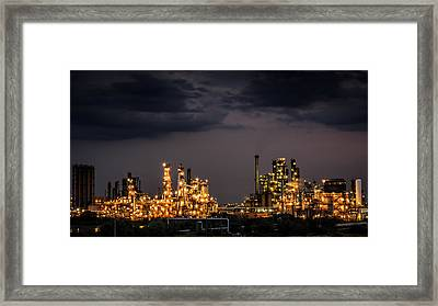 The Refinery Framed Print