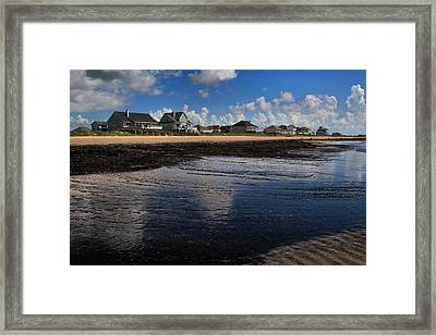 The Reflected Sky Framed Print by Linda Unger