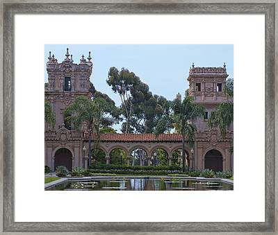The Reflection Pool Framed Print