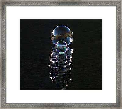 The Reflection  Framed Print by Terry Cosgrave