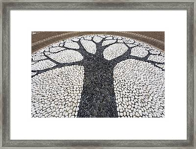 The Reformers Tree Memorial In Hyde Park In London England Framed Print