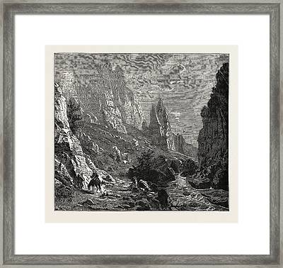 The Region Takes Its Name From The Balkan Mountains Framed Print by Litz Collection
