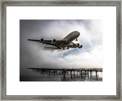 The Reigning King Framed Print