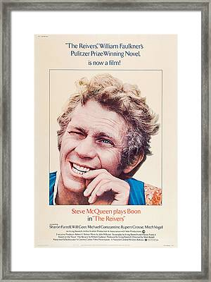 The Reivers, Us Poster, Steve Mcqueen Framed Print by Everett