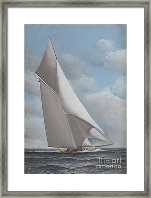 The Reliance Framed Print by Pg Reproductions