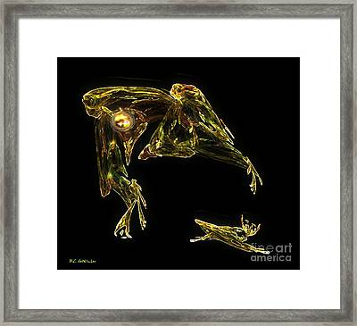 The Reluctant Familiar Framed Print by RC DeWinter