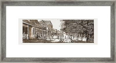 The Remarkable Characters Who Were At Tunbridge Wells Framed Print by Litz Collection