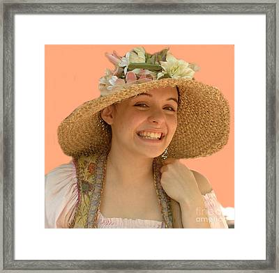 The Renaissance Girl Framed Print by Kathleen Struckle